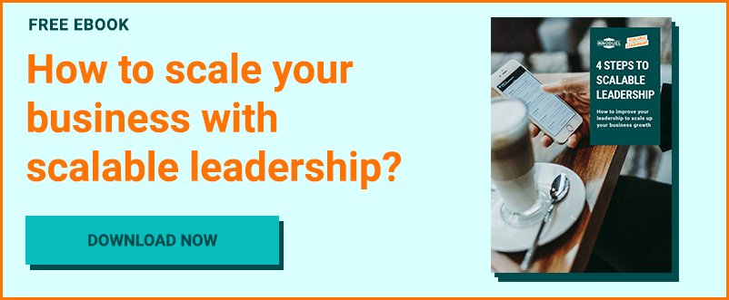 Improve your leadership and make it scalable with this free eBook.